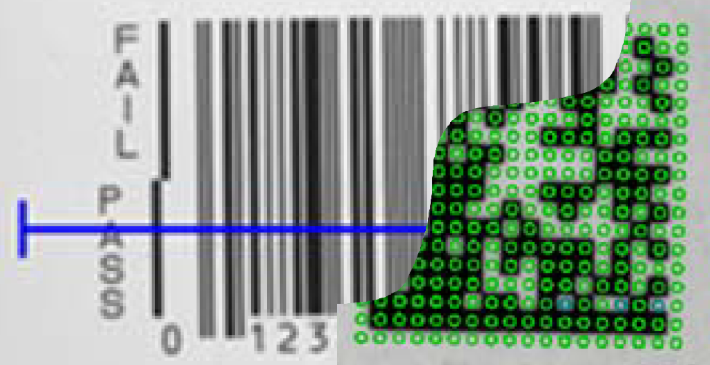 barcode datamatrix verifikation
