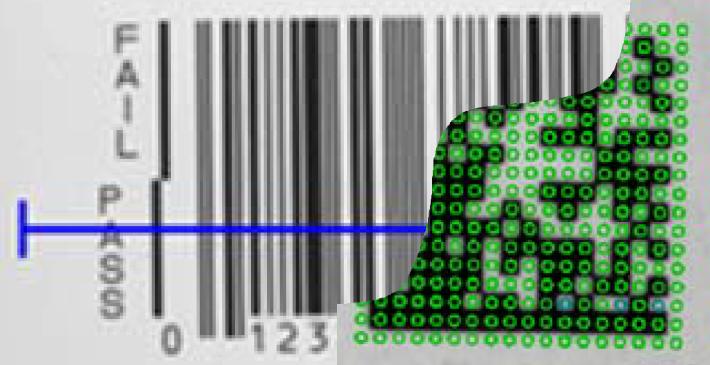 barcode datamatrix verifikation