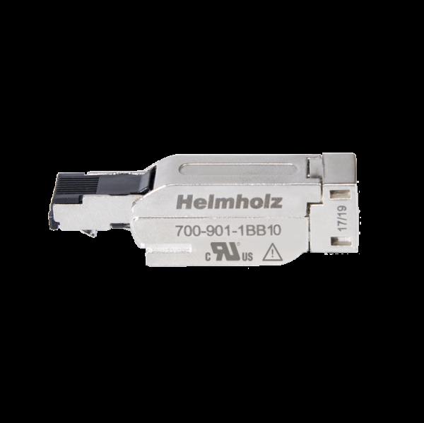 Ethernet Stecker 4-polig, gerade