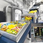 Kunststoffförderstrecke mit PN Switch (Erema)